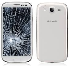 Samsung Galaxy I9300 S3 Display Glas Reparatur