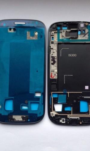 Samsung Galaxy S3 i9300 Mittelrahmen Display Rahmen inkl. Kleber