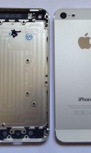 Apple iPhone 5 oder 5S Rückschale Backcover Housing Gehäuse Mittelrahmen
