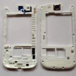 Original Samsung Galaxy S3 i9305 Mittel Rahmen Cover Kamera Linse