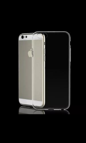 iPhone 6 & 6 Plus Silikon Cover Hard Case Schutz Hülle Transparent