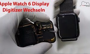 Apple Watch Series 6 Display Replacement Touch Glas Digitizer Wechseln