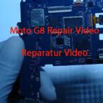 Motorola G8 XT2041 Teardown Display Akku Wechseln Replacement