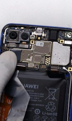 Huawei Honor view 20 Display Akku Ladebuchse Austausch   Teardown