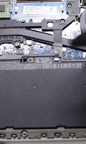 HP Elitebook 745 G4 SSD Aufrüsten Akku Wechseln Battery Replacement